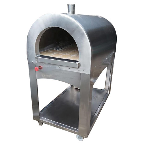 SS Coal Gas Pizza Oven