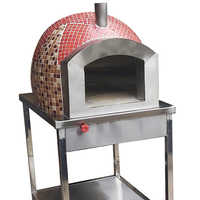 Moseic Tile Pizza Oven
