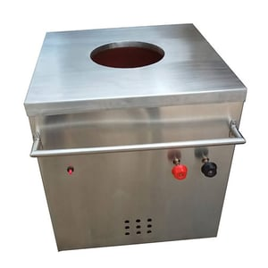SS One Touch Gas Tandoor