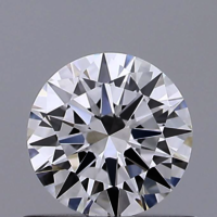 Round Brilliant Cut HPHT 0.52ct Diamond D VVS2 IGI Certified Lab Grown TYPE2 447089626