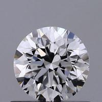 Round Brilliant Cut HPHT 0.55ct Diamond