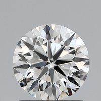 Round Brilliant Cut CVD 1.01ct Diamond