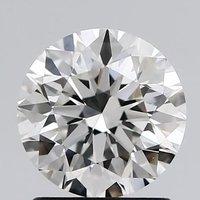 Round Brilliant Cut CVD 1.19ct Diamond