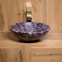 Designer Amethyst Wash Basin