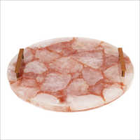 Rose Quartz Round Tray