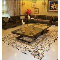 Decorative Marble Inlay Flooring