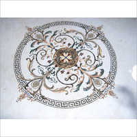 Designer Marble Inlay Flooring
