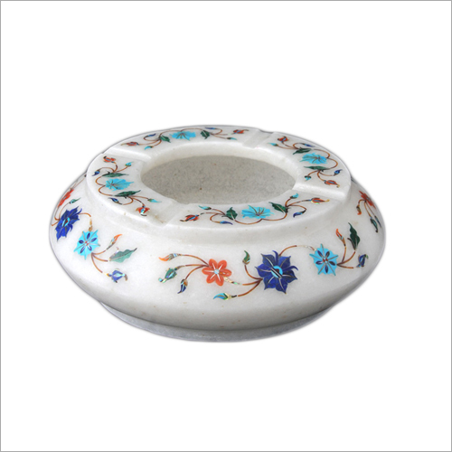 Printed Marble Inlay Ashtrays