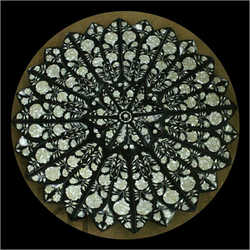 Decorative Mother Of Pearl Inlay Table Top