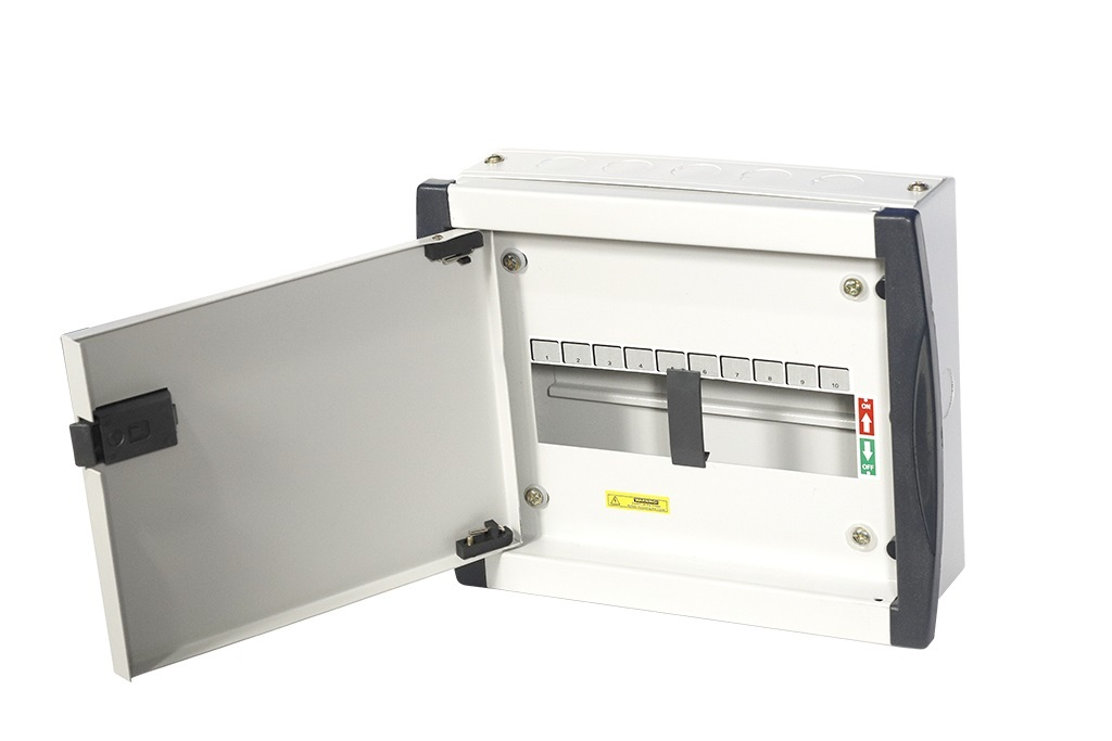 10 Way Double Door Mcb Distribution Board