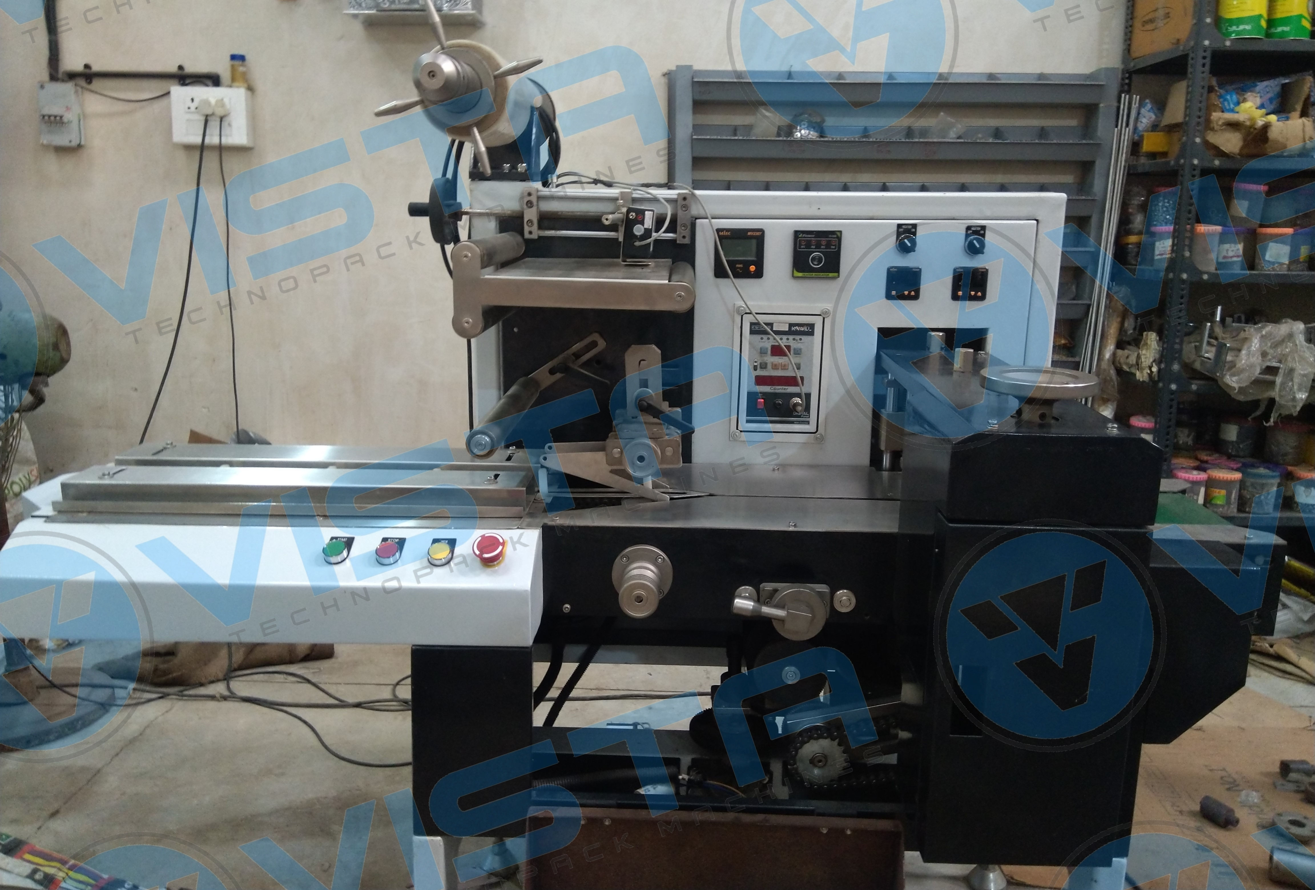 Mechanical Flow Wrapping Machine