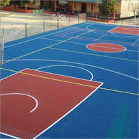 Synthetic Acrylic Basketball Court Flooring