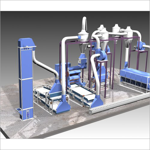 Cotton Seed Hulling Plant