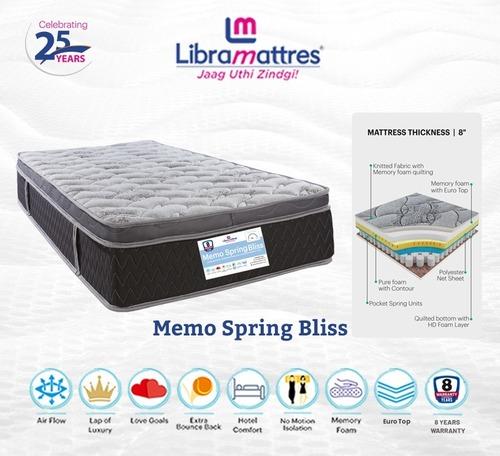 Libra Mattresses - Memo Spring Bliss