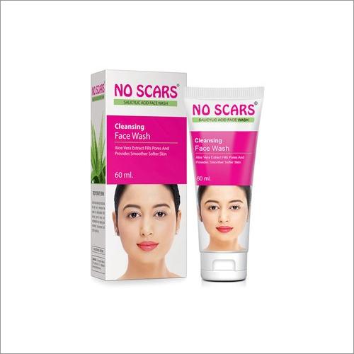 60 ML No Scars Aloe Vera Face Wash