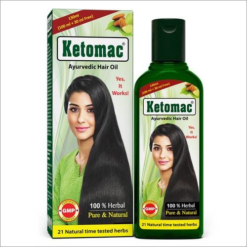 130 ML Ketomac Ayurvedic Hair Oil