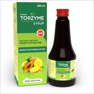 200 ML Torque's Torzyme Syrup Natural Protein Digestive Enzyme