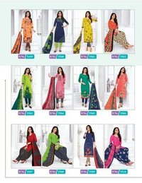 Priti Vol-04 Designer Dress Material