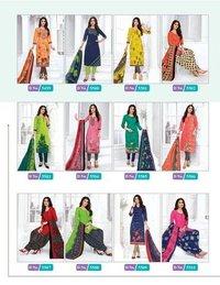 Priti Vol-04 Designer Dress Material