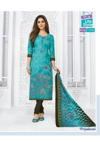 PRIYALAXMI VOL 18 Designer Cotton Dress Material