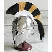 Medieval Knight Spartan Greek Corinthian Armor Helmet
