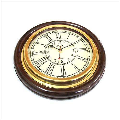 Circular Analog Nautical Wall Clock