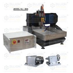 Low Energy Consumption Heavy Cnc Small 4 Axis Machine
