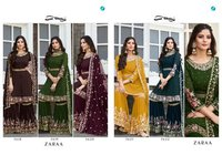 Zaraa Designer Georgette Dress Material