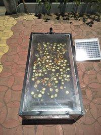 Solar Dryer for Olives Leaf