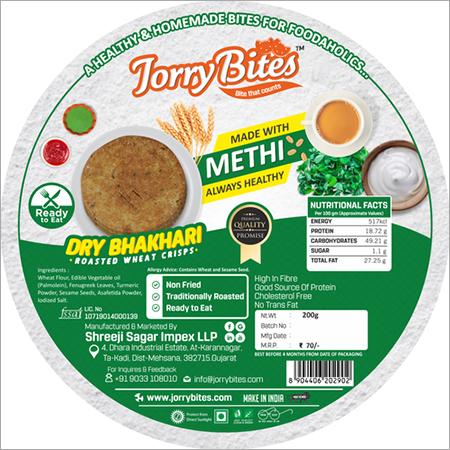 Methi Dry Bhakhari
