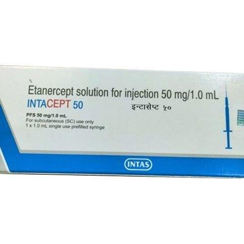 50 mg Intacept Etanercept Injection