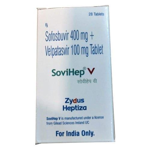 Sofosbuvir And Velpatasvir Tablets