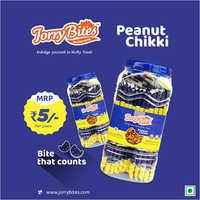 Peanut Chikki Jar