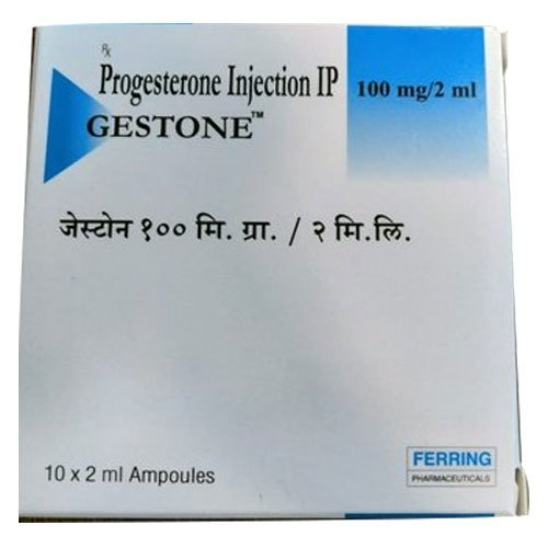 100 Mg Progesterone Injection