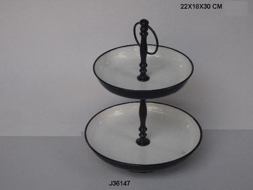Cake Stand Enamel Color