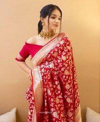 Ladies Lichi Silk Saree