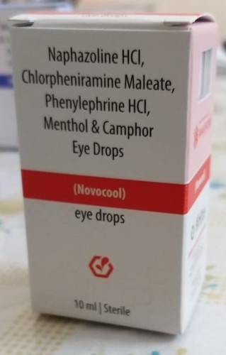NOVOCOOL EYE DROPS