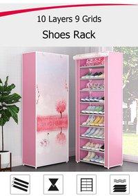 HK 10 Layer Shoe Rack