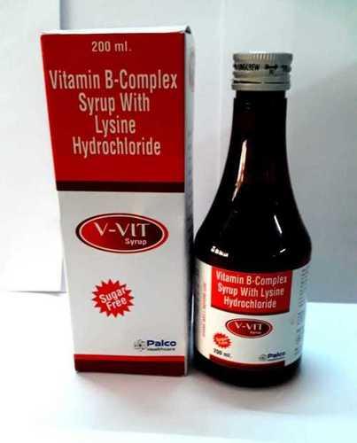 Vitamin B - Complex Syrup with Lysine Hydrochloride