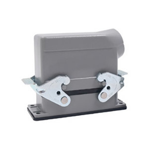 16 Pin 16 Amp Heavy Duty Connector Bottom Open Side Entry