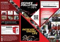 Papadahandi Oxy Hydrogen Engine Carbon Cleaning Machine
