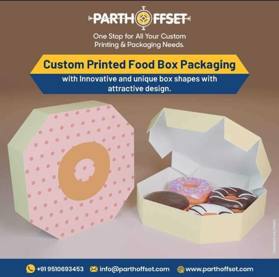 Paperboard Food Packaging Boxes