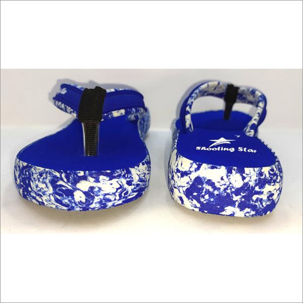 Ladies Cover Fashion Blue Slipper