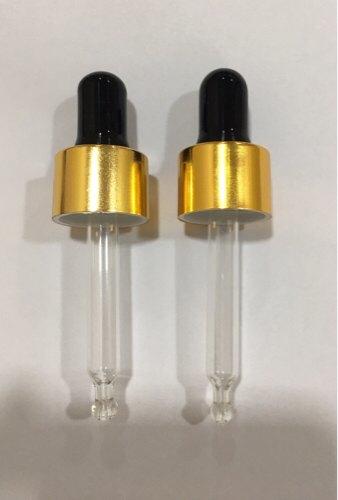 Gold & Silver Plastic Dropper