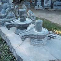 Lord Shiva Lingam Granite Statue