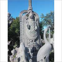 Lord Venkateshwara Granite Statue