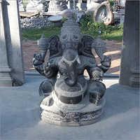 Lord Vinayakar Granite Statue