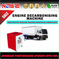 Bhuban Truck Carbon Cleaning Machine