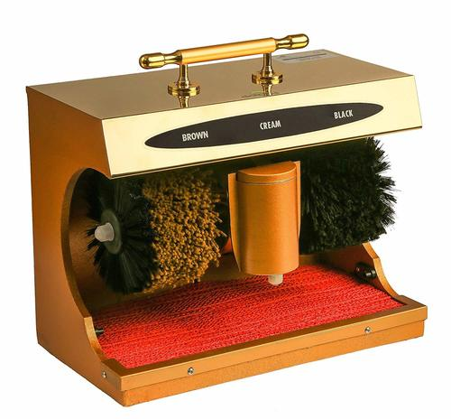 AUTOMATIC SHOE SHINE MACHINE OR AUTOMATIC SHOE POLISHER