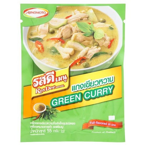 Ros Dee Menu Instant Green Curry Paste Powder 55 grams